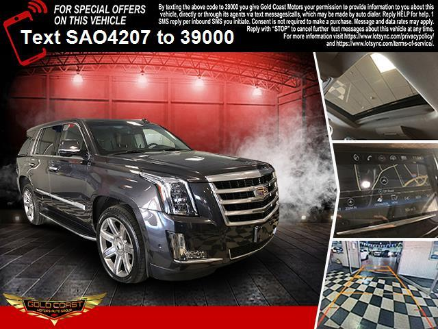 Used Cadillac Escalade 4WD 4dr Luxury 2018   Sunrise Auto Outlet. Amityville, New York
