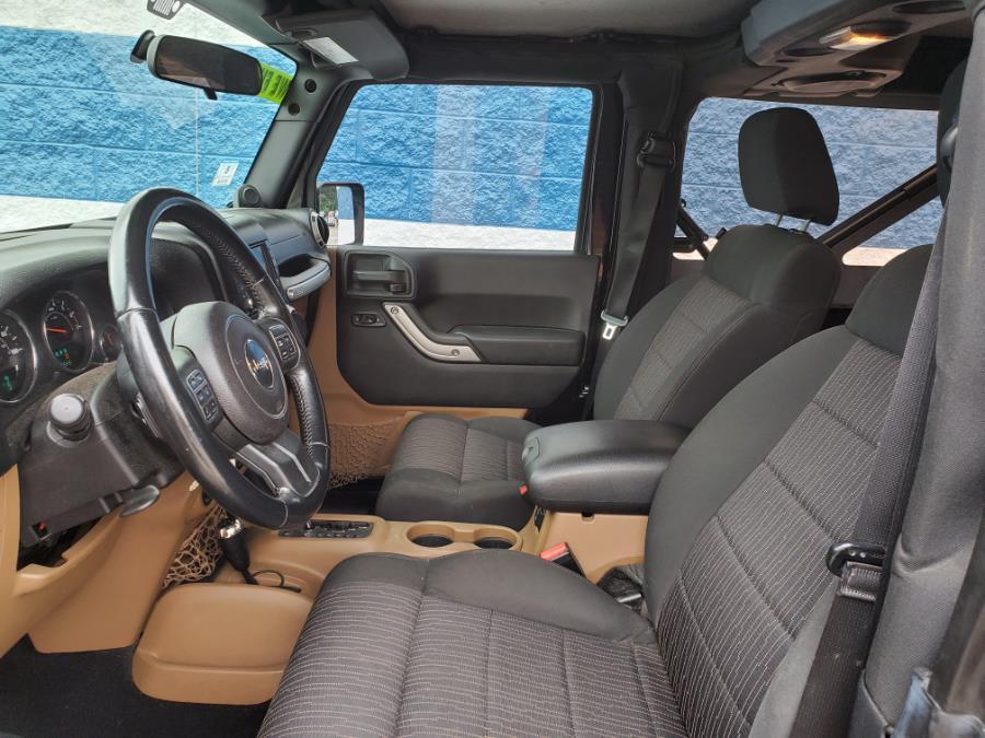 Used Jeep Wrangler 4WD 2dr Sahara 2011   Capital Lease and Finance. Brockton, Massachusetts