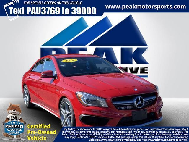 Used Mercedes-Benz CLA-Class 4dr Sdn CLA45 AMG 4MATIC 2014   Peak Automotive Inc.. Bayshore, New York