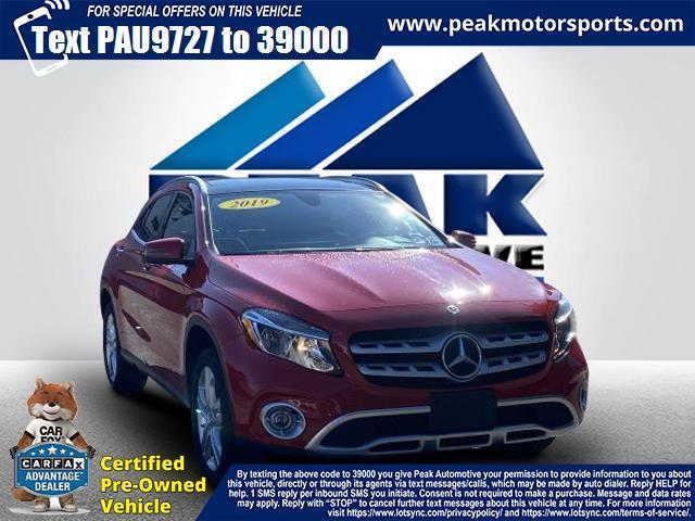 Used Mercedes-Benz GLA GLA 250 4MATIC SUV 2019   Peak Automotive Inc.. Bayshore, New York