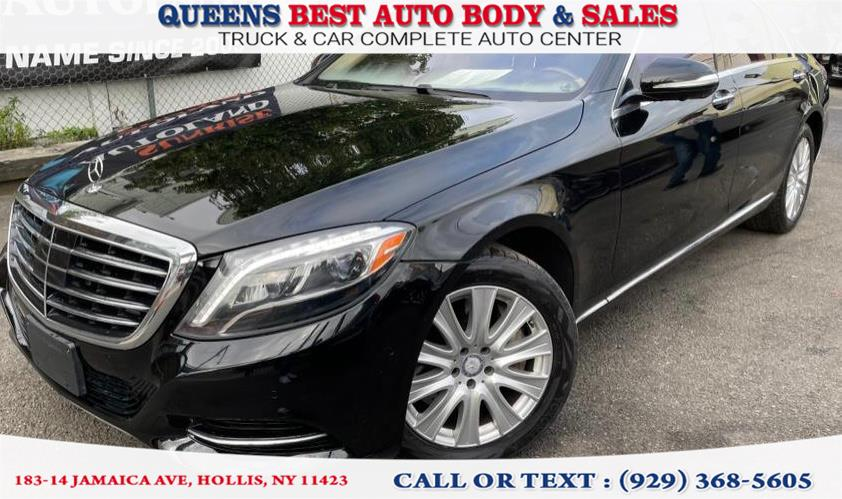 Used 2015 Mercedes-Benz S-Class in Hollis, New York | Queens Best Auto Body / Sales. Hollis, New York