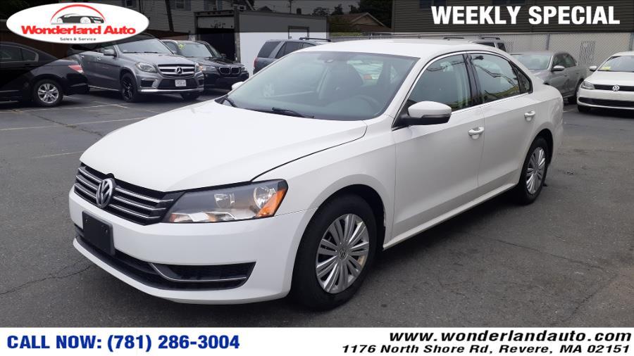 Used 2014 Volkswagen Passat in Revere, Massachusetts | Wonderland Auto. Revere, Massachusetts