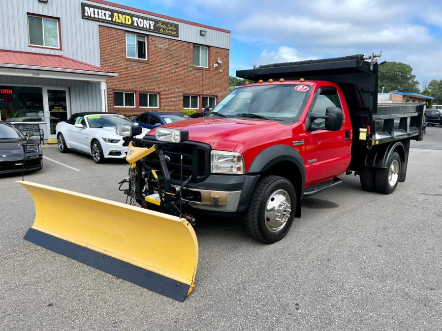 """Used Ford Super Duty F-450 DRW 4WD Reg Cab 141"""" WB 60"""" CA XL 2007 