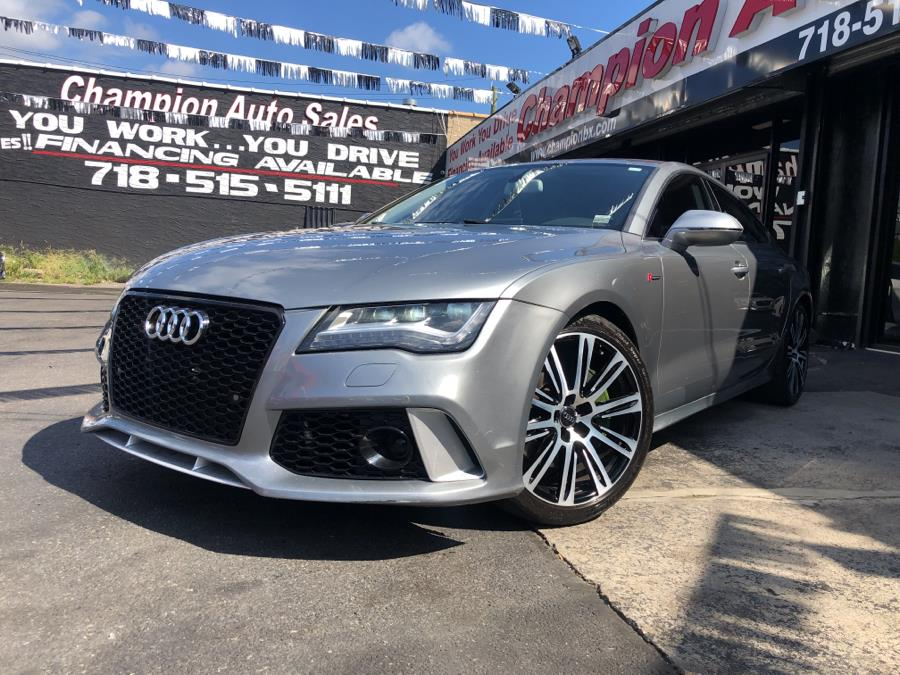 Used 2012 Audi A7 in Bronx, New York | Champion Auto Sales Of The Bronx. Bronx, New York