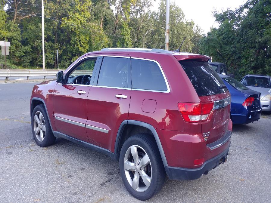 Used Jeep Grand Cherokee 4WD 4dr Limited 2012 | Matts Auto Mall LLC. Chicopee, Massachusetts