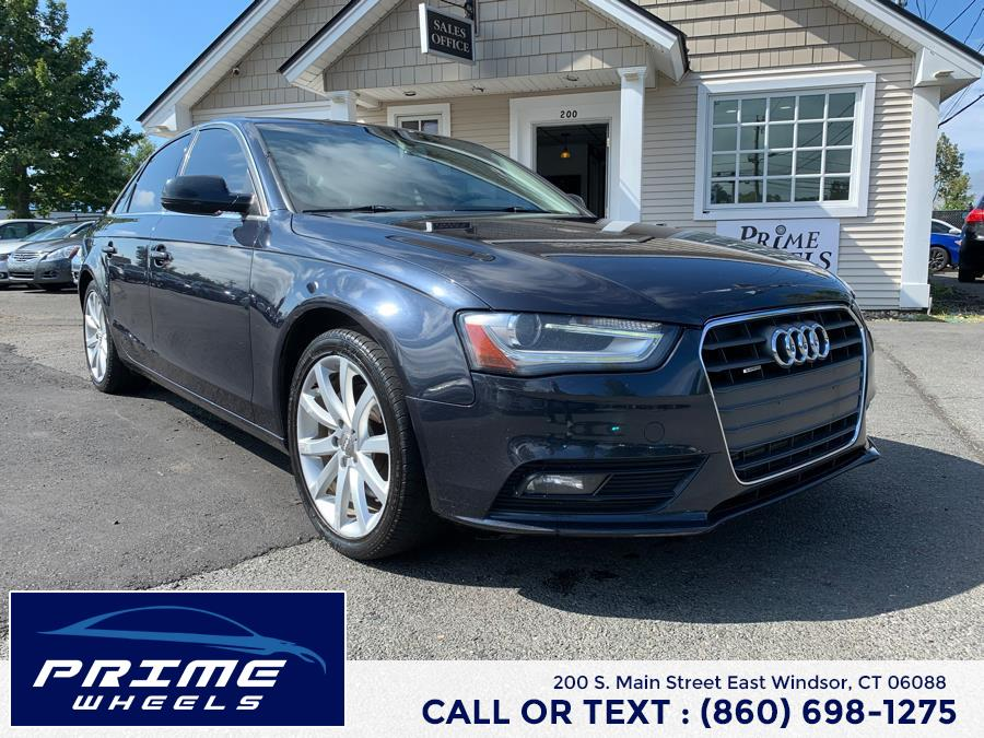 Used 2013 Audi A4 in East Windsor, Connecticut | Prime Wheels. East Windsor, Connecticut