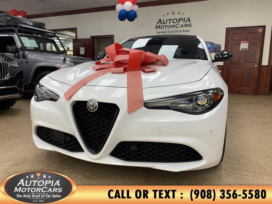 Used Alfa Romeo Giulia Ti RWD 2019 | Autopia Motorcars Inc. Union, New Jersey
