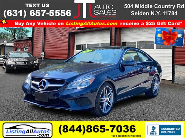 Used 2014 Mercedes-benz E-class in Patchogue, New York | www.ListingAllAutos.com. Patchogue, New York