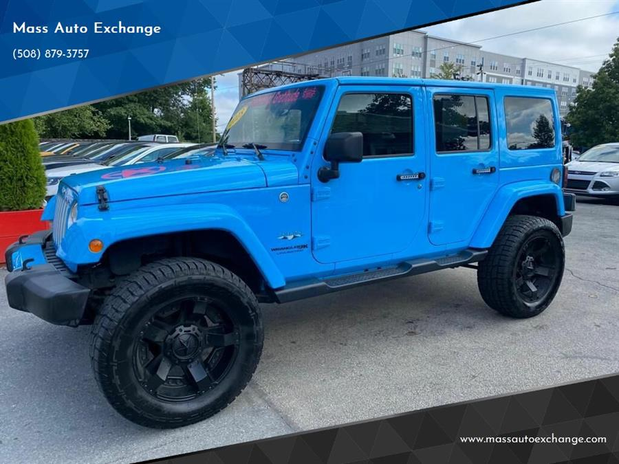 Used 2018 Jeep Wrangler JK Unlimited in Framingham, Massachusetts | Mass Auto Exchange. Framingham, Massachusetts