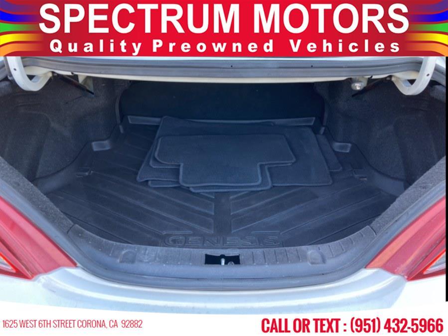Used Hyundai Genesis Coupe 2dr V6 3.8L Man R-Spec 2012   Spectrum Motors. Corona, California