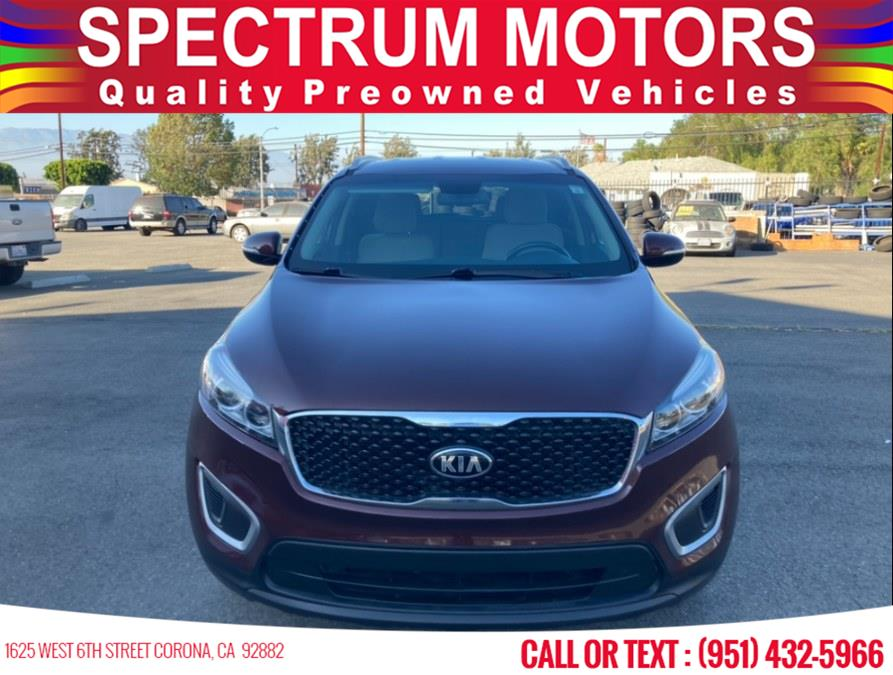 Used 2016 Kia Sorento in Corona, California | Spectrum Motors. Corona, California