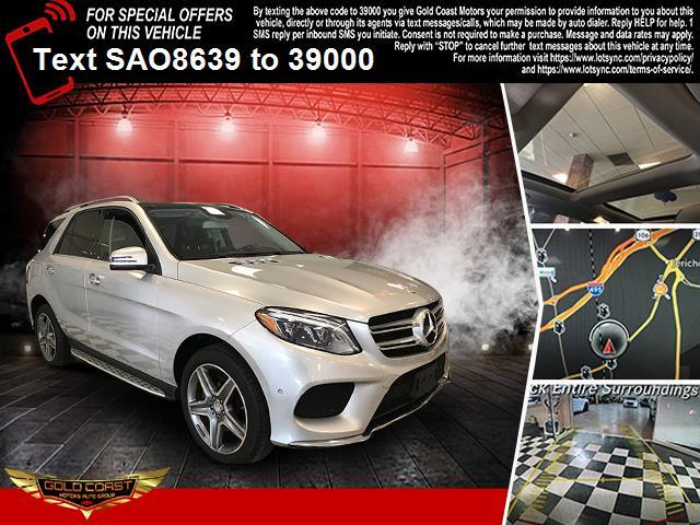 Used Mercedes-Benz GLE 4MATIC 4dr GLE 400 2016   Sunrise Auto Outlet. Amityville, New York