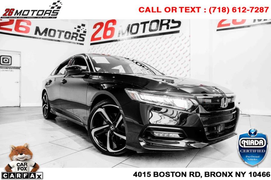 Used Honda Accord Sedan Sport 1.5T CVT 2018   26 Motors Corp. Bronx, New York