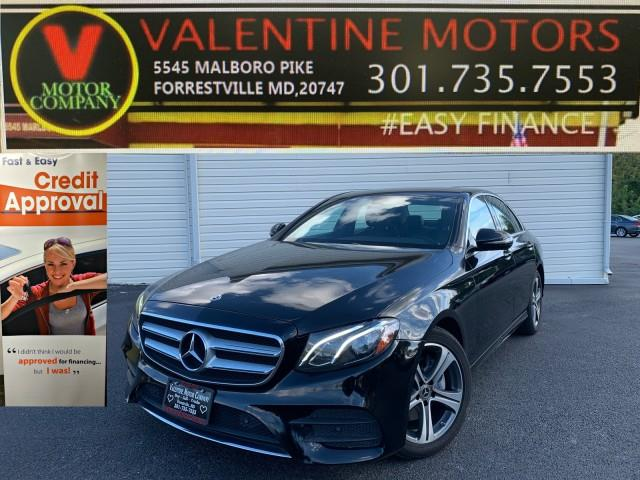 Used Mercedes-benz E-class E 300 2019 | Valentine Motor Company. Forestville, Maryland