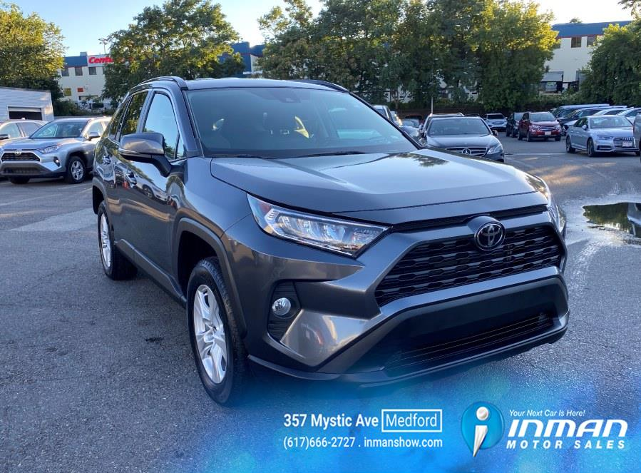 Used Toyota RAV4 XLE FWD (Natl) 2021   Inman Motors Sales. Medford, Massachusetts