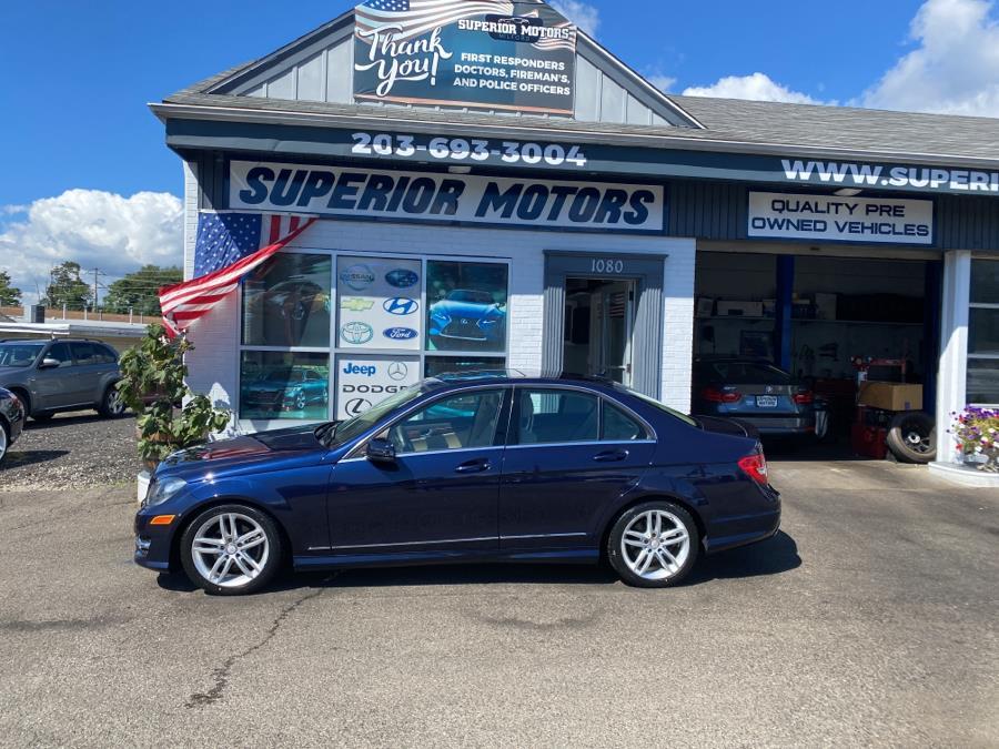 Used Mercedes-Benz C-300 4MATIC 4dr Sdn C300 Sport 4MATIC 2012 | Superior Motors LLC. Milford, Connecticut