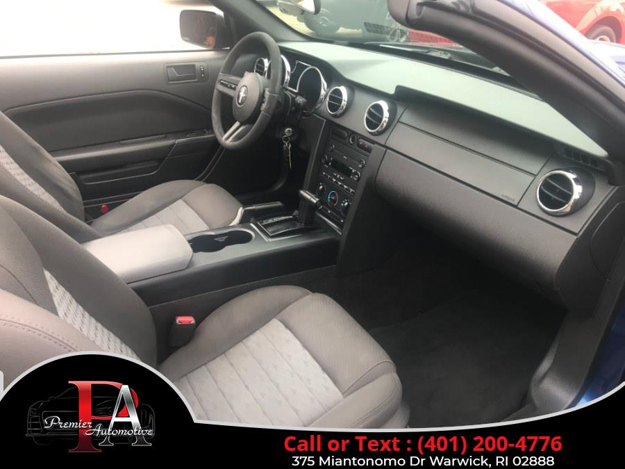 Used Ford Mustang 2dr Conv GT Deluxe 2007   Premier Automotive Sales. Warwick, Rhode Island