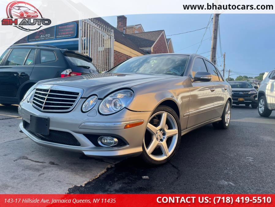Used Mercedes-Benz E-Class 4dr Sdn Sport 5.5L RWD 2009   BH Auto. Jamaica Queens, New York