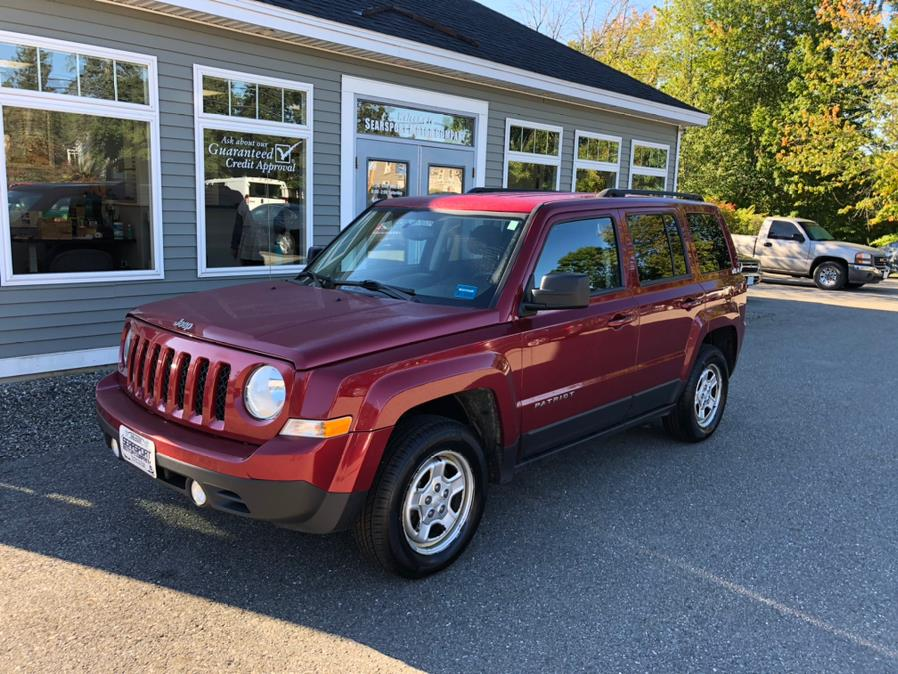 Used Jeep Patriot 4WD 4dr Sport 2016 | Searsport Motor Company. Searsport, Maine
