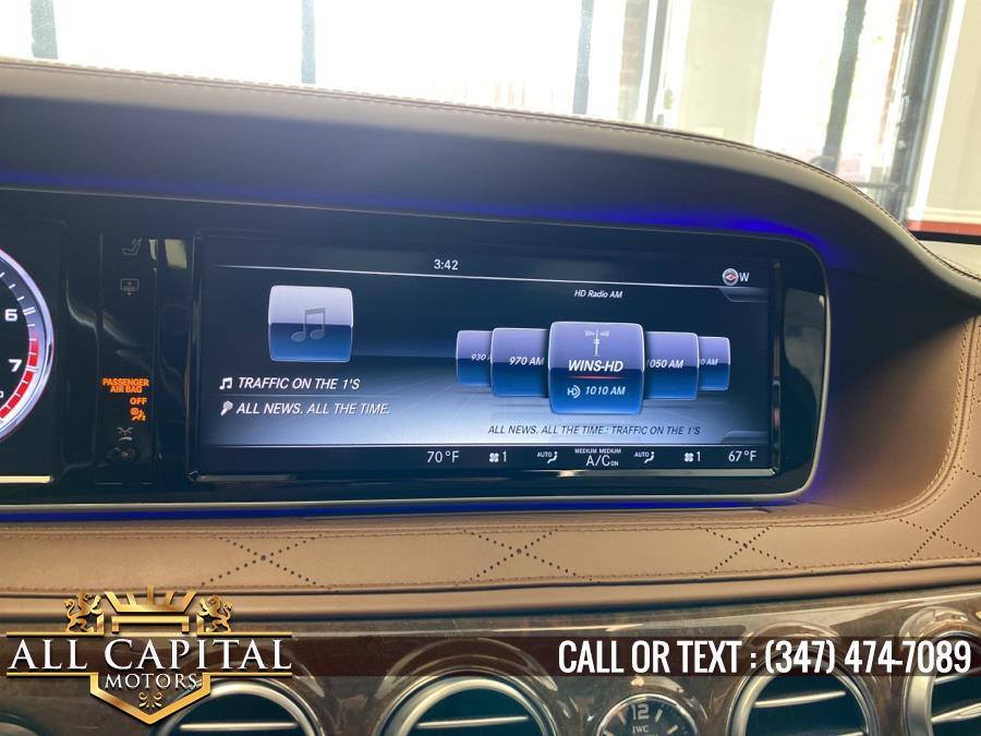 Used Mercedes-Benz S-Class AMG S 63 4MATIC Sedan 2017   All Capital Motors. Brooklyn, New York