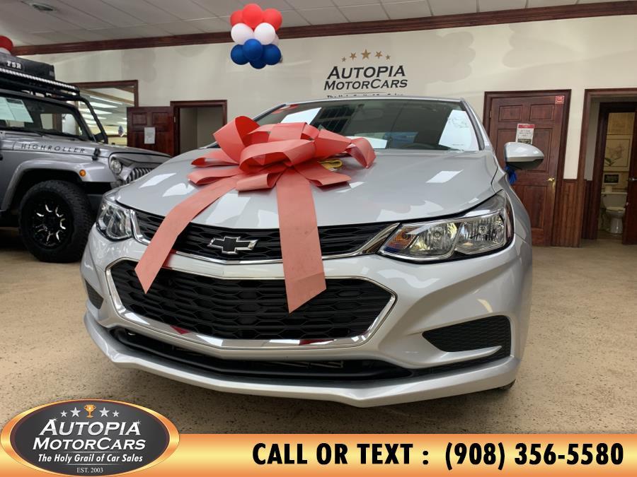 Used Chevrolet Cruze 4dr Sdn 1.4L LS w/1SA 2017 | Autopia Motorcars Inc. Union, New Jersey