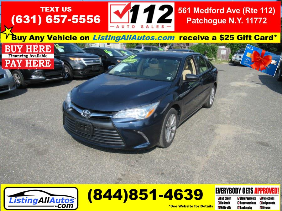Used Toyota Camry 4dr Sdn I4 Auto XLE (Natl) 2016 | www.ListingAllAutos.com. Patchogue, New York