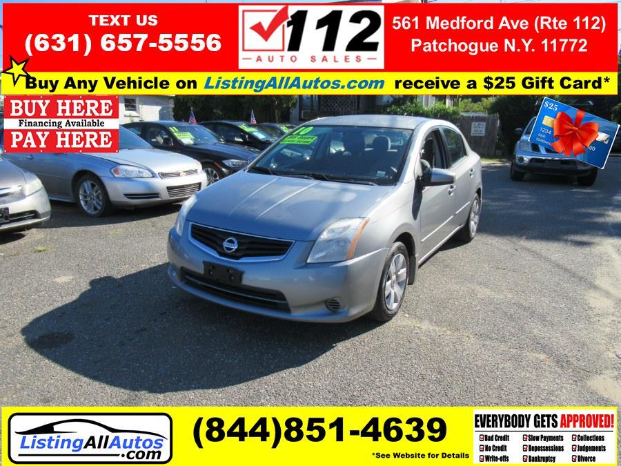 Used Nissan Sentra 4dr Sdn I4 CVT 2.0 S 2010 | www.ListingAllAutos.com. Patchogue, New York