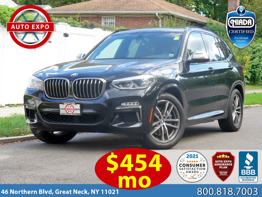 Used 2018 BMW X3 m Sport Package in Great Neck, New York | Auto Expo Ent Inc.. Great Neck, New York