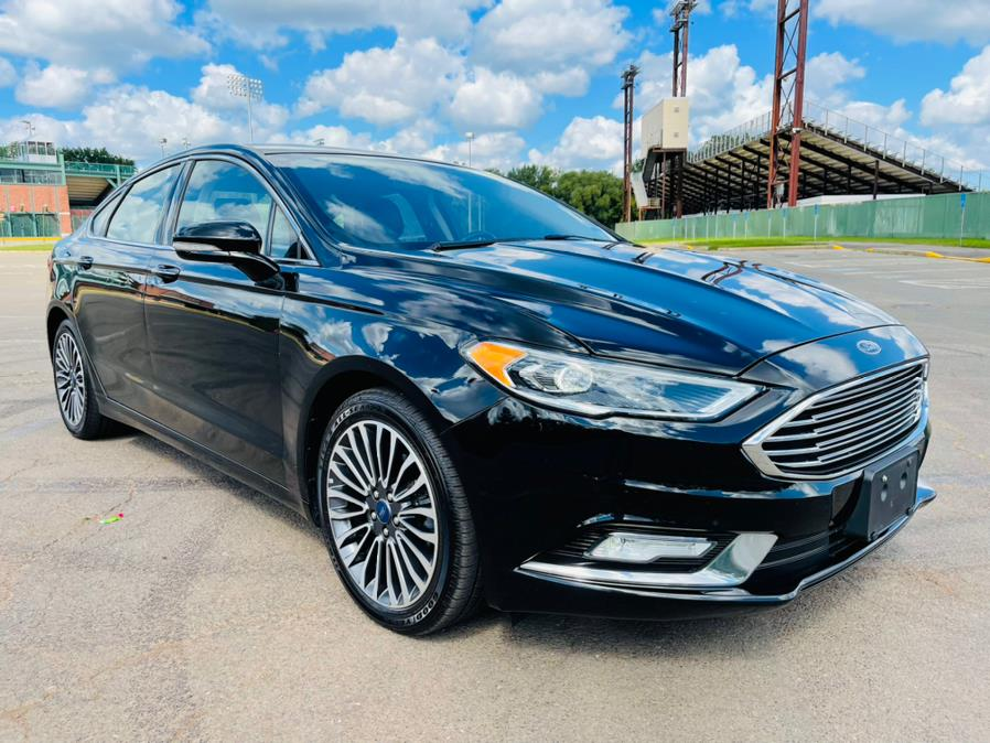 Used Ford Fusion Titanium FWD 2017 | Supreme Automotive. New Britain, Connecticut
