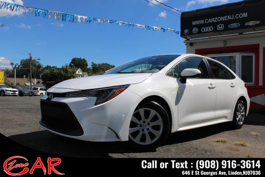 Used Toyota Corolla LE CVT (Natl) 2020 | Car Zone. Linden, New Jersey
