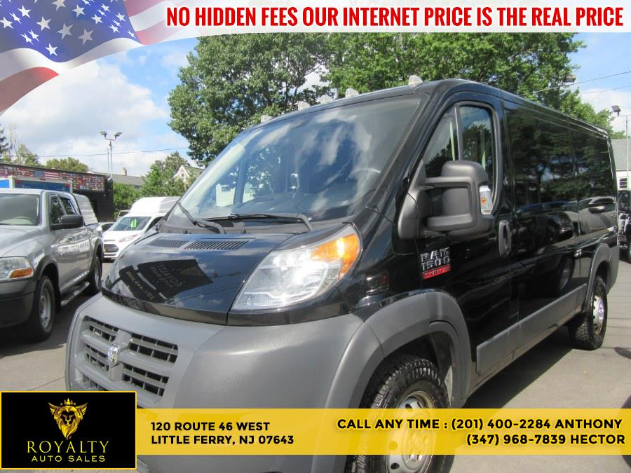 """Used Ram ProMaster Cargo Van 1500 Low Roof 136"""" WB 2014   Royalty Auto Sales. Little Ferry, New Jersey"""