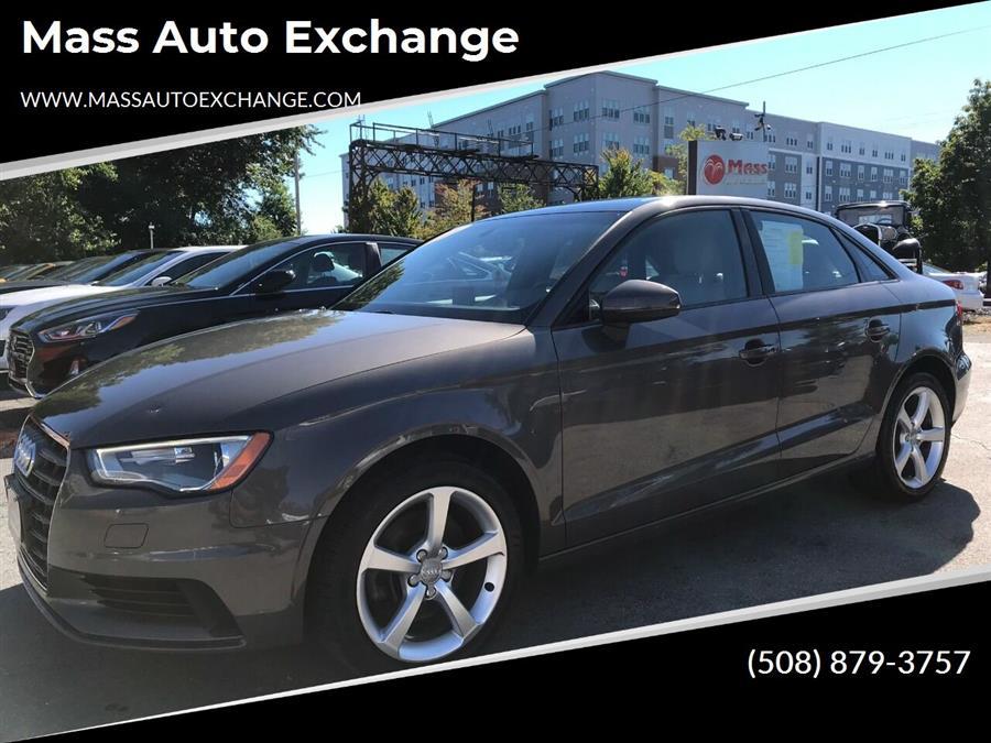 Used Audi A3 2.0T quattro Premium AWD 4dr Sedan 2015   Mass Auto Exchange. Framingham, Massachusetts