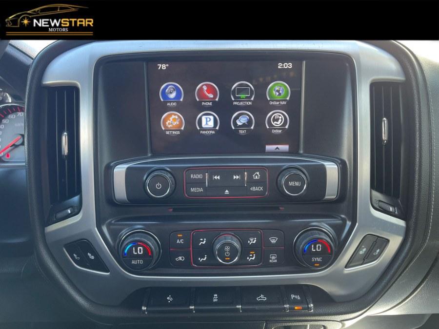 "Used GMC Sierra 1500 4WD Double Cab 143.5"" SLE Leather 2016   New Star Motors. Chelsea, Massachusetts"