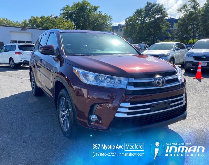 Used Toyota Highlander XLE V6 AWD (Natl) 2018   Inman Motors Sales. Medford, Massachusetts