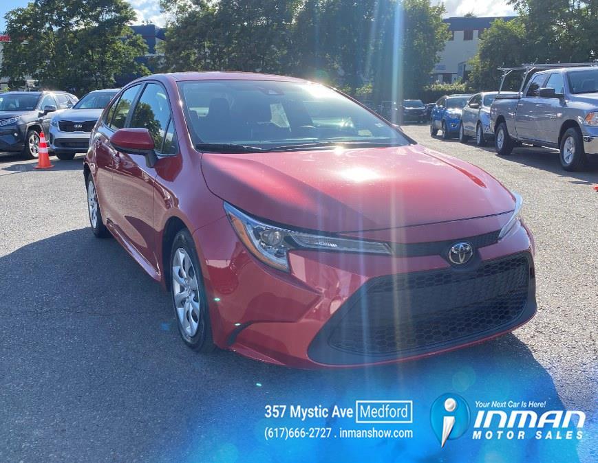 Used Toyota Corolla LE CVT (Natl) 2020 | Inman Motors Sales. Medford, Massachusetts