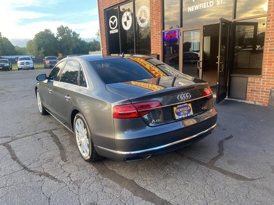 Used Audi A8 L 4dr Sdn 4.0T L 2015 | Newfield Auto Sales. Middletown, Connecticut