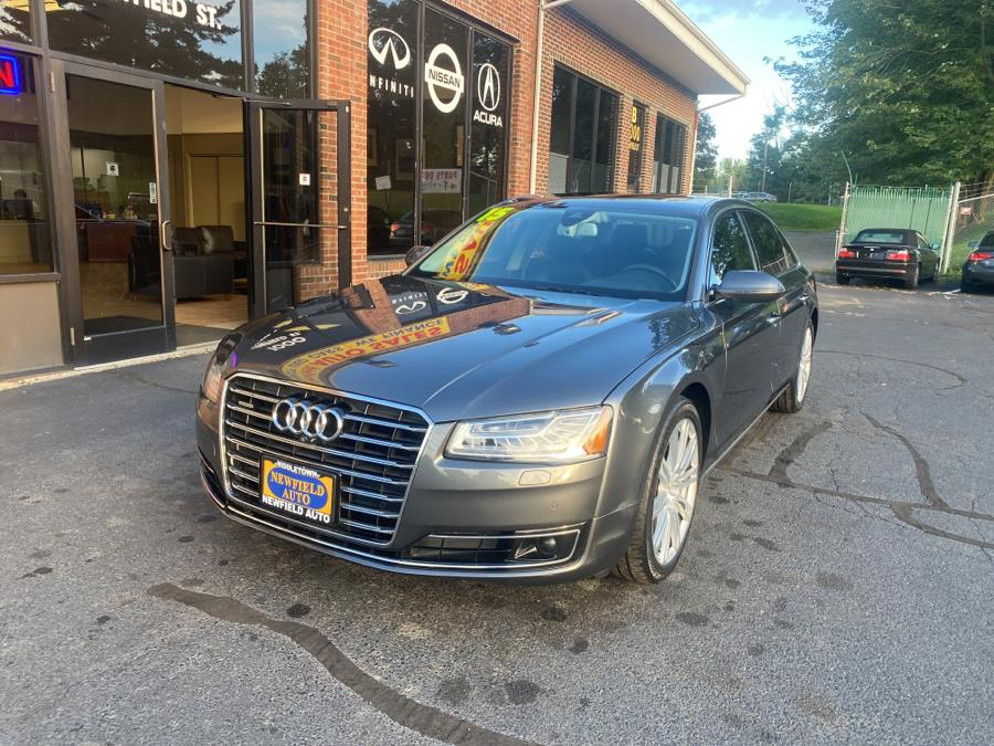 Used 2015 Audi A8 L in Middletown, Connecticut | Newfield Auto Sales. Middletown, Connecticut
