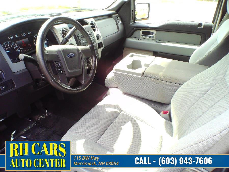 "Used Ford F-150 4WD SuperCrew 145"" XLT 2011 | RH Cars LLC. Merrimack, New Hampshire"