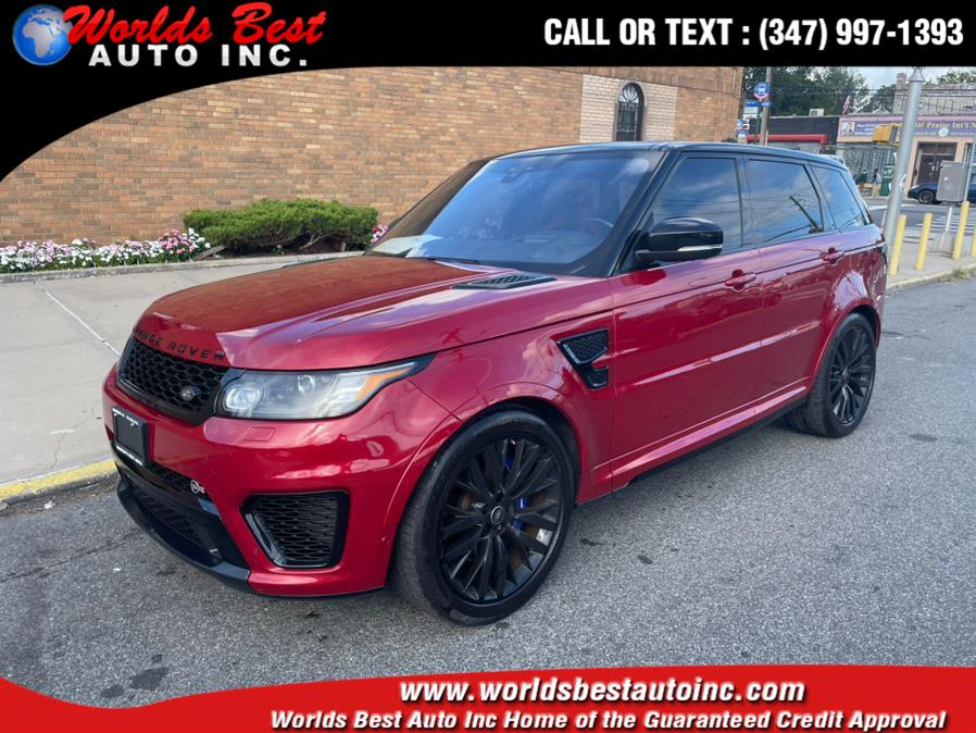 2017 Land Rover Range Rover Sport V8 Supercharged SVR, available for sale in Brooklyn, NY