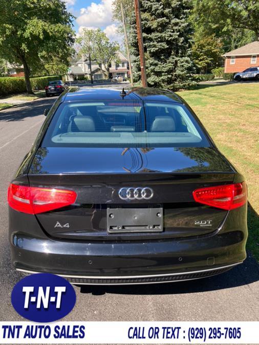 Used Audi A4 4dr Sdn Auto quattro 2.0T Premium Plus 2014 | TNT Auto Sales USA inc. Bronx, New York