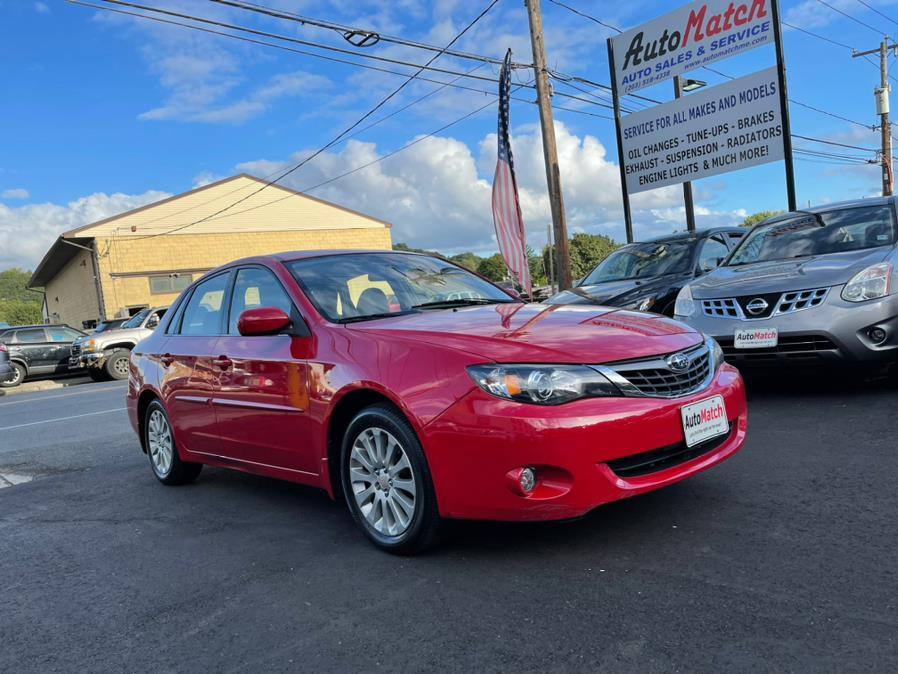 Used Subaru Impreza Sedan 4dr Auto i w/Premium Pkg 2008   Auto Match LLC. Waterbury, Connecticut