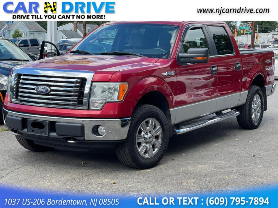 Used Ford F-150 XLT SuperCrew 5.5-ft. Bed 4WD 2010   Car N Drive. Bordentown, New Jersey