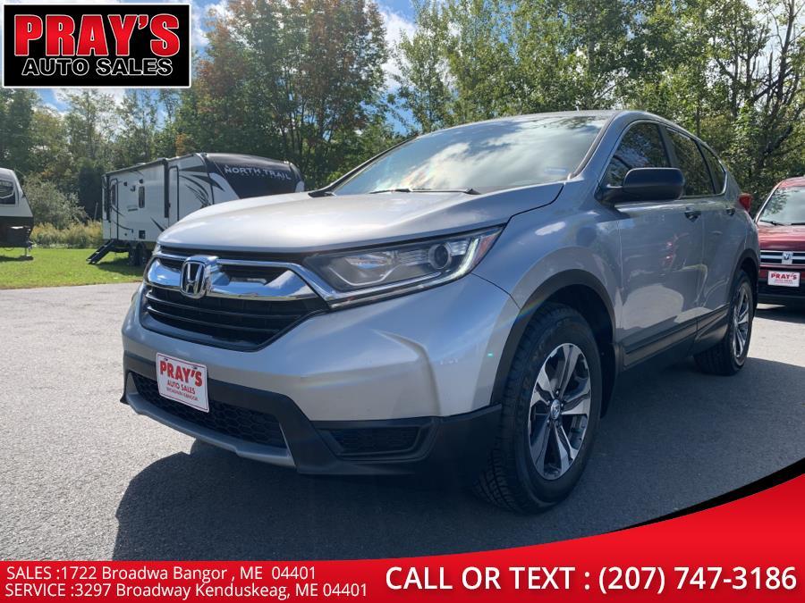 Used Honda CR-V LX 2WD 2017 | Pray's Auto Sales . Bangor , Maine