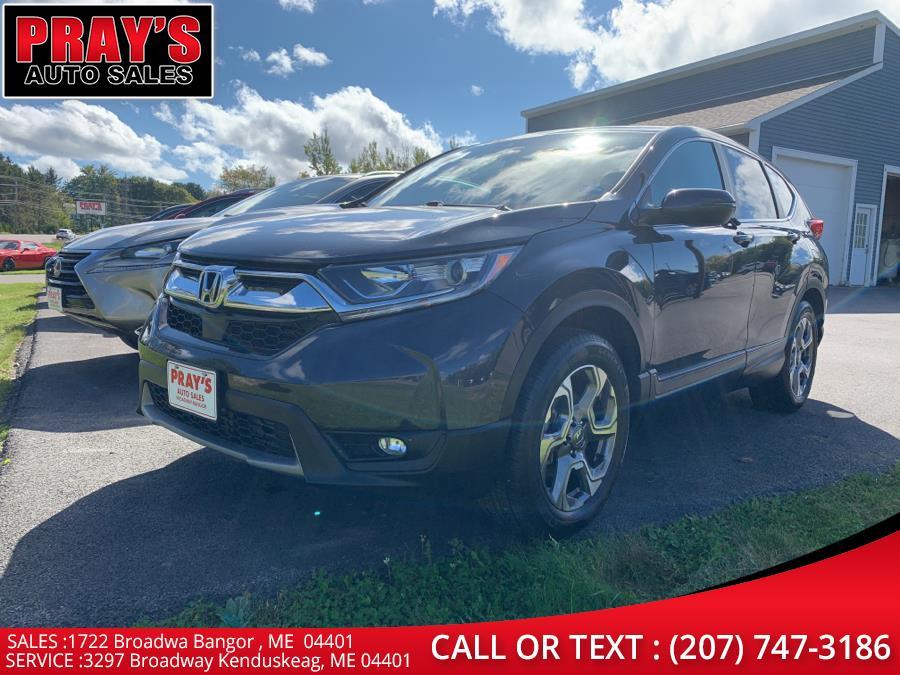 Used Honda CR-V EX AWD 2019   Pray's Auto Sales . Bangor , Maine