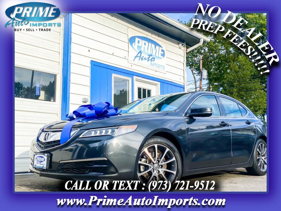 Used 2015 Acura TLX in Bloomingdale, New Jersey | Prime Auto Imports. Bloomingdale, New Jersey