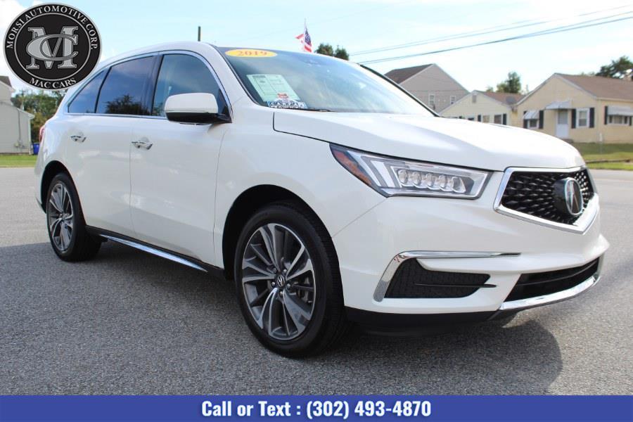 Used Acura MDX SH-AWD w/Technology Pkg 2019   Morsi Automotive Corp. New Castle, Delaware