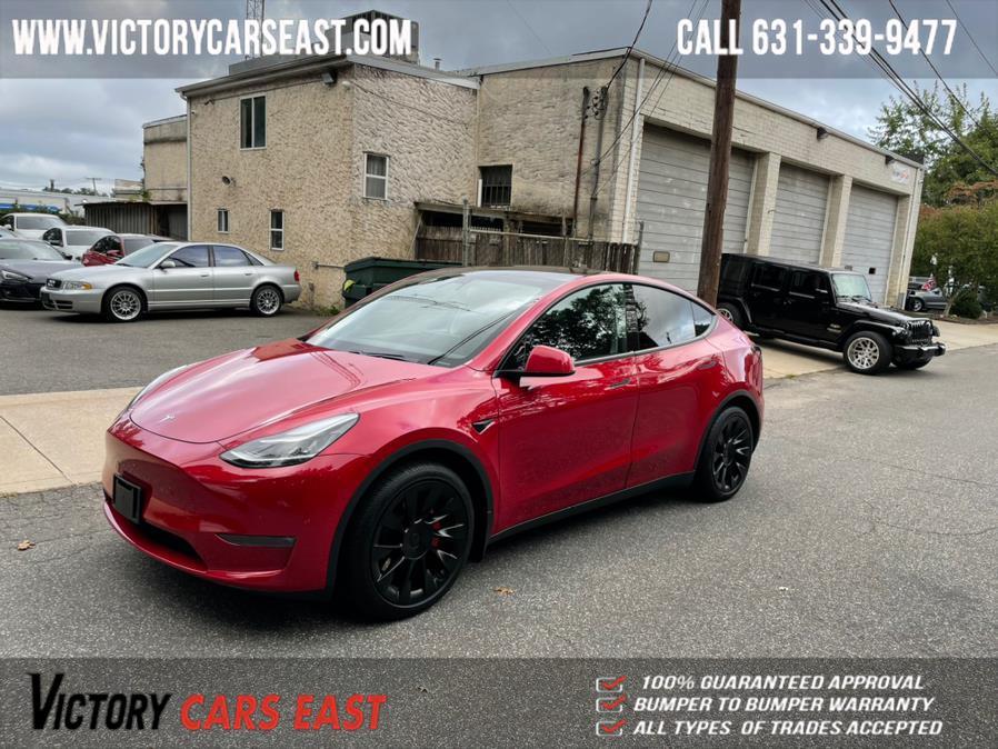 Used Tesla Model Y Long Range AWD 2021   Victory Cars East LLC. Huntington, New York