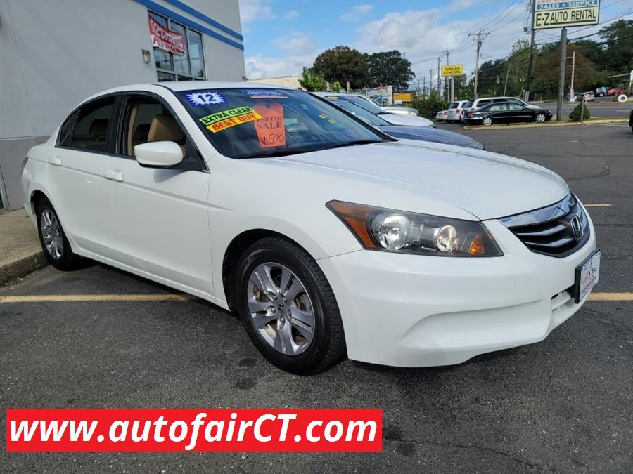 Used 2012 Honda Accord Sdn in West Haven, Connecticut
