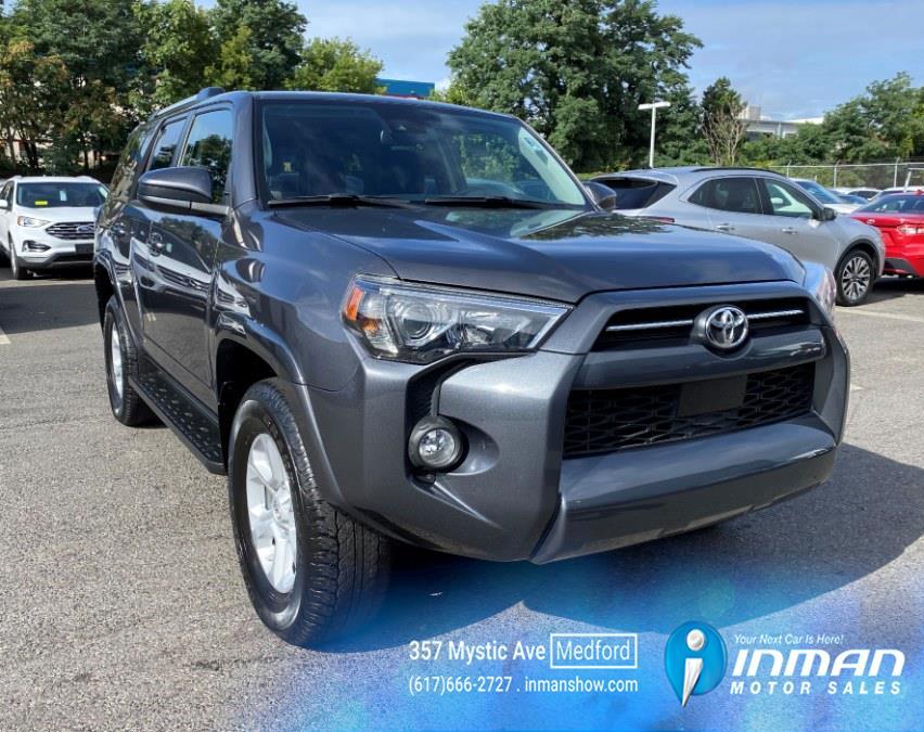 Used Toyota 4Runner SR5 4WD (Natl) 2020 | Inman Motors Sales. Medford, Massachusetts