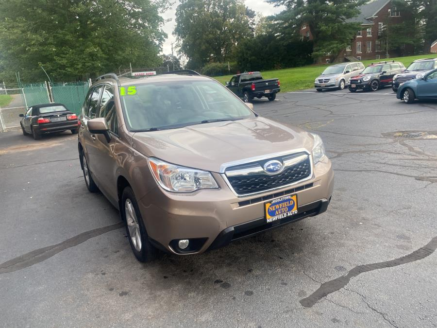 Used Subaru Forester 4dr CVT 2.5i Limited PZEV 2015   Newfield Auto Sales. Middletown, Connecticut
